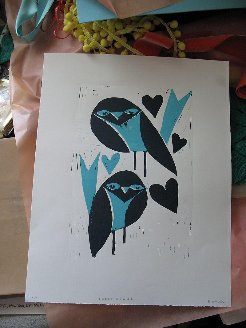 Ardorbirds print