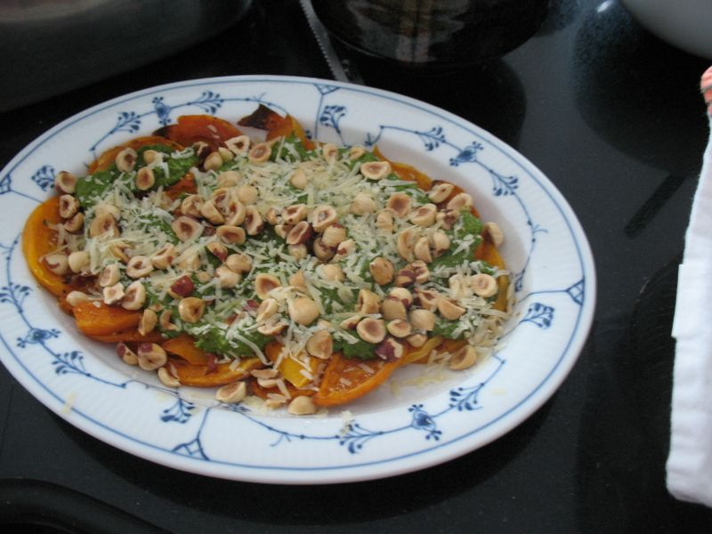Pumpkinarugulapesto