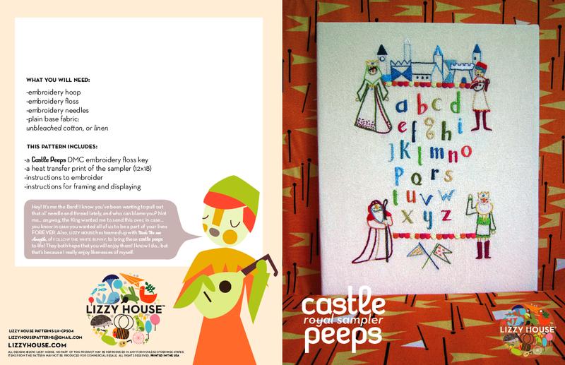 Castle Peeps Sampler