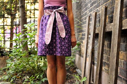 Enchanted Bow Skirt