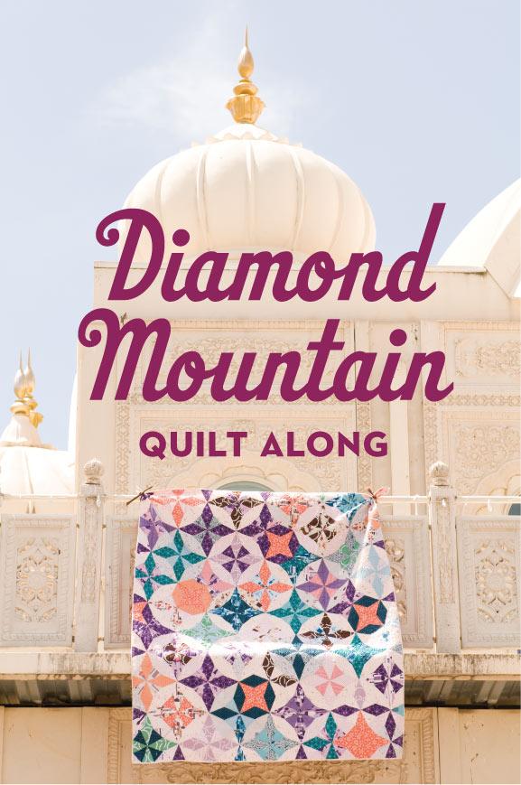 Diamond-mountain-quilt-along