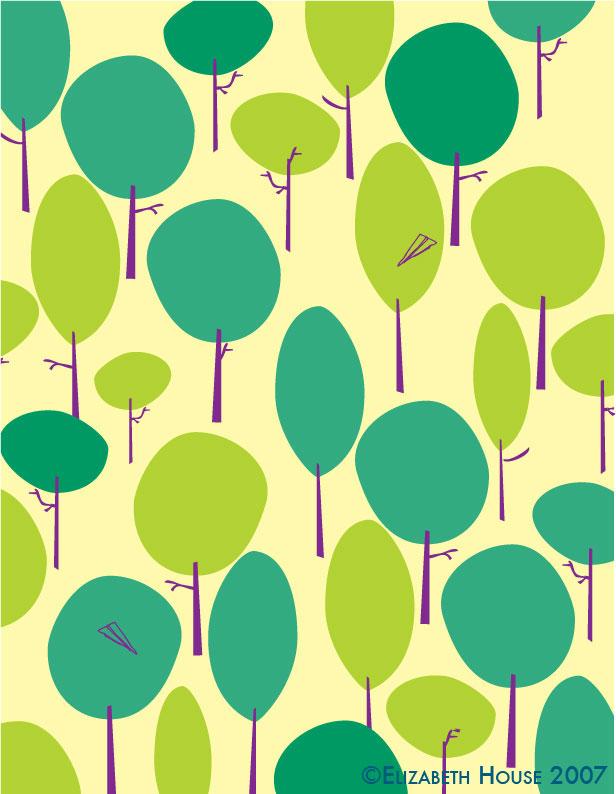 Paperairplanetttrees